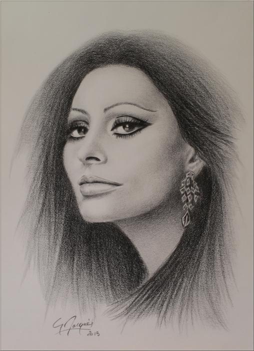 Sophia Loren by magerar